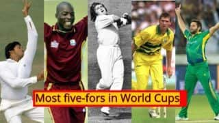 Cricket World Cup 2019: List of players who have scalped most five-fors