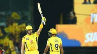 CSK vs SRH: Watson roars back to form to guide CSK to thrilling six-wicket victory