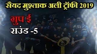 Syed Mushtaq Ali Trophy 2019, Round 5, Group E: Samarth Singh hits half century, Uttar Pradesh beat Services by 1 run