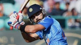 Virat Kohli – Second player to aggregate 1,000+ ODI runs in four consecutive calendar years