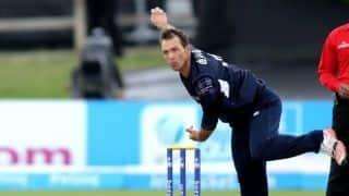 Con de Lange, Scotland cricketer, dies aged 38 after brain tumour