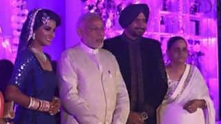 Harbhajan Singh marriage: Narendra Modi, Bollywood celebrities, Indian teammates attend
