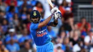 Virat Kohli levels with pakistani's Shoaib Malik at third spot in all-time T20I run list
