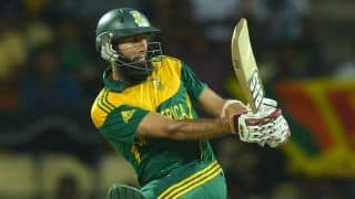 Hashim Amla steady for South Africa but wickets keep tumbling against Sri Lanka in 2nd ODI at Pallekele