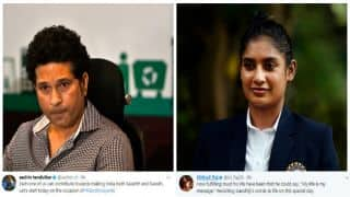 Sachin Tendulkar, Mithali Raj and others celebrate Gandhi Jayanti