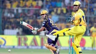 Chennai Super Kings vs Kolkata Knight Riders, Live Cricket Score IPL 2015 Match 28 at Chennai