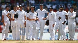 England 65/1 at Tea on Day 5, need 78 more runs to win the 2nd Test against West Indies at Grenada