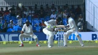 Watch Kohli take a blinder at leg slip during Indore Test