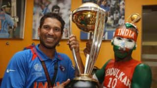 Sachin Tendulkar helps Sudhir Gautam get timely visa for Champions Trophy 2017