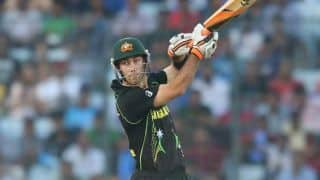 ICC Cricket World Cup 2015: David Warner encourages Glenn Maxwell to be patient