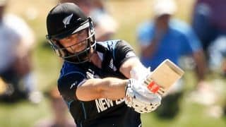 New Zealand vs Scotland ICC World Cup 2015 match at Dunedin: Kane Williamson falls for 38