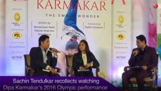 Dipa Karmakar motivated youngsters to take up gymnastics: Sachin Tendulkar