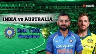 India vs Australia 2019, 2nd T20I, Live cricket score, Bengaluru: Glenn Maxwell special leads Australia to 2-0 series win