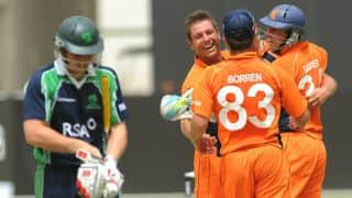 Netherlands to host T20I tri-series against Ireland, Scotland