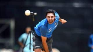 VIDEO: Bhuvneshwar Kumar perfecting toe-crushers