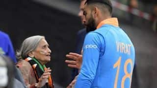 Cricket World Cup 2019: 87-year-old Indian fan steals the limelight at Edgbaston