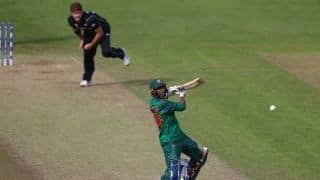 ICC Champions Trophy 2017, Bangladesh v New Zealand: 5 records by Mahmudullah and Shakib Al Hasan