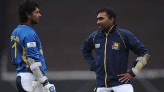 Mahela Jayawardene, Kumar Sangakkara take up 'ice bucket challenge' together