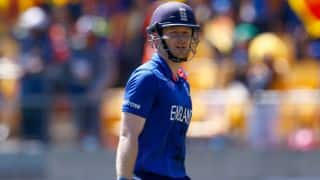 Eoin Morgan completes 100 sixes in ODIs, most by England batsman