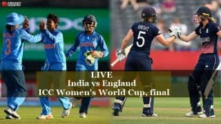 Live Cricket Score, India vs England, ICC Women's World Cup 2017, final at Lord's: England lose openers after good start