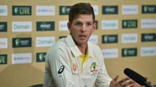 Tim Paine doesn't want to put pressure on Marnus Labuschagne for filling Steve Smith's shoes