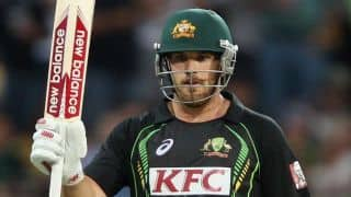 Aaron Finch extends Melbourne Renegades Contract in Big Bash league