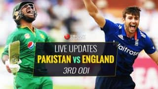Live Cricket Score, PAK Vs ENG, 3rd ODI 2016: ENG win toss and bat