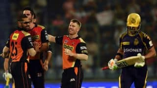 David Warner credits Sunrisers Hyderabad's bowling, fielding for win in Eliminator vs Kolkata Knight Riders