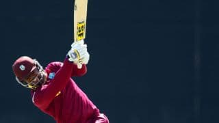 WI vs ZIM: Dwayne Smith dismissed for duck by Tinashe Panyangara