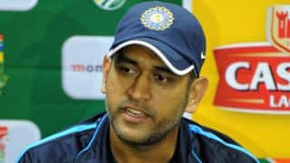 South Africa vs India 2013-14: Mahendra Singh Dhoni happy with India's show in South Africa