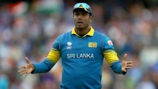 Bangladesh Tri-nation series 2018: Angelo Mathews out of Bangladesh tie; likely to miss remaining matches