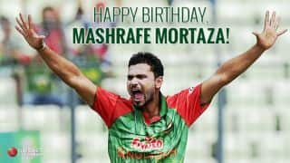 Happy birthday Mashrafe Mortaza: Bangladesh captain turns 33!