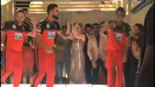 Watch: Virat Kohli, Brendon McCullum, Yuzvendra Chahal dance for an ad shoot for Royal Challengers Bangalore