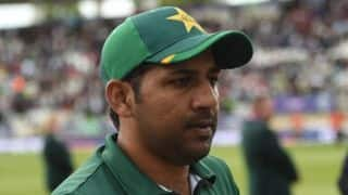 Pak skipper Sarfaraz Ahmed finally reacts to yawning during India-Pakistan tie