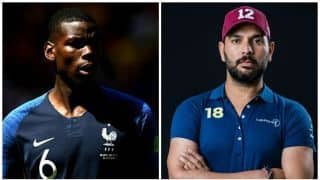 Yuvraj  Singh supporting France because of Paul Pogba