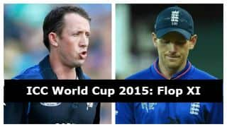 ICC Cricket World Cup 2015: Flop XI