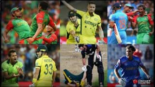 ICC Cricket World Cup 2015: Top 10 most memorable moments