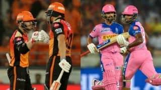 Warner, Bairstow trump Samson, Rahane as Hyderabad beat Rajasthan