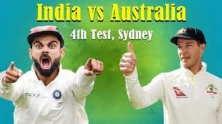 India vs Australia 2018, 4th Test, Day 1, LIVE cricket score: Cheteshwar Pujara hits 18th Test century as India finish on 303/4