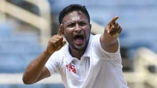 Bangladesh vs West Indies: Shakib Al Hasan double lifts hosts before lunch