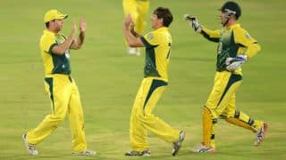ICC World T20 2014 warm-up tie: Australia win toss, elect to bat against New Zealand