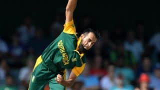 Masakadza is out for 80 as Tahir collects 2nd wicket in South Africa vs Zimbabwe match