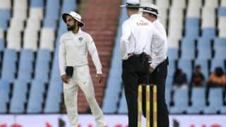 Kohli throws ball in frustration; ICC fine him 25% match fee