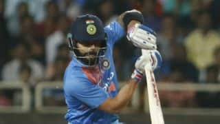 Virat Kohli dismissed for maiden duck in T20I during 2nd match against Australia
