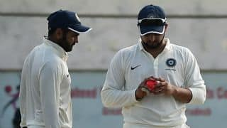 RED 344/3, Lead 306, Duleep Trophy Live Updates of first pink cricket ball match in India: STUMPS