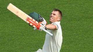 The Ashes 2017-18, 4th Test: David Warner's fierce ton takes Hosts to 244/3 on Day 1