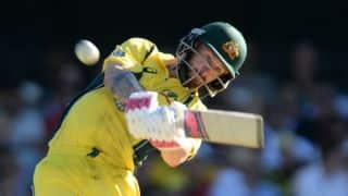 Matthew Wade's record ton and Glenn Maxwell lift Australia to 268/9 in 1st ODI vs Pakistan