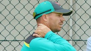 David Warner struck by neck injury ahead of Ashes 2017-18