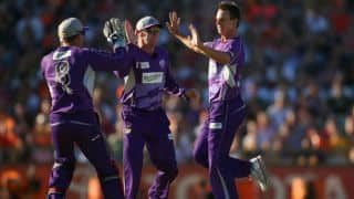 Cape Cobras vs Hobart Hurricanes CLT20 2014 — Highlights
