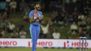 Jasprit Bumrah: first time in New Zealand so very happy with the learnings